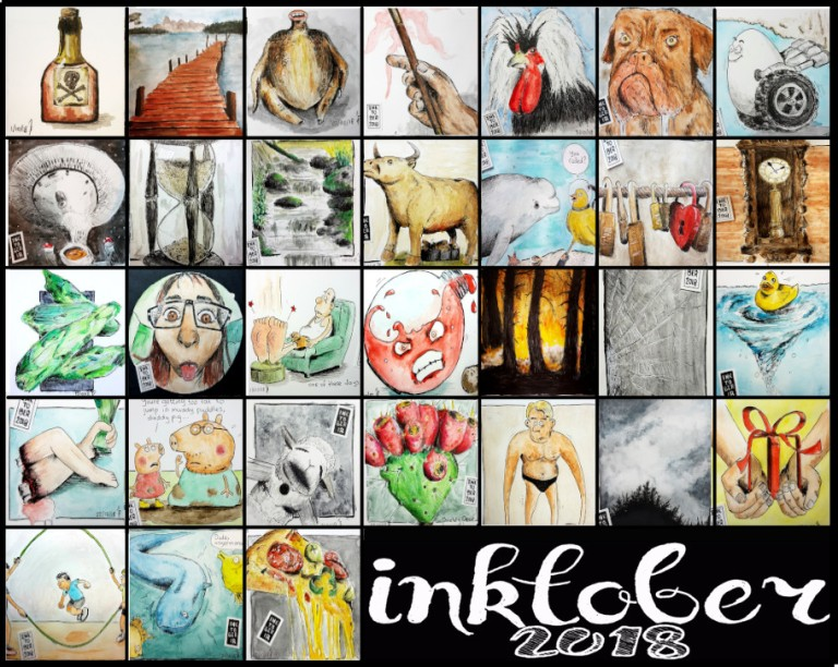 inktober-calendar